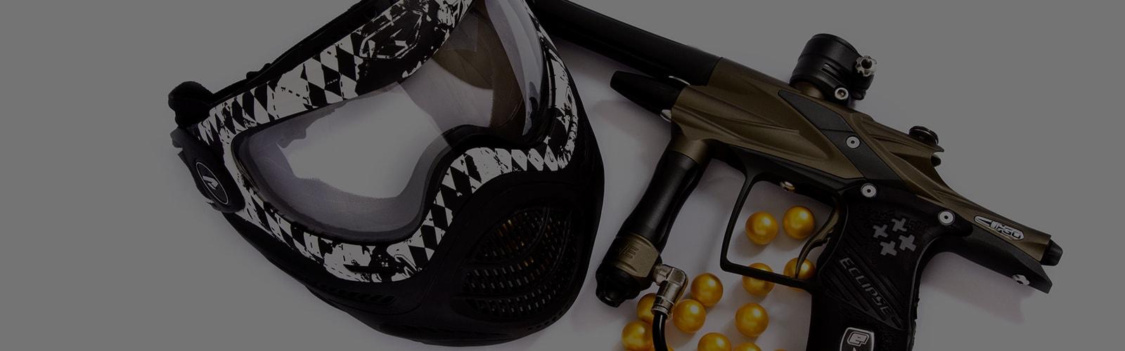 Личное оборудование для пейнтбола