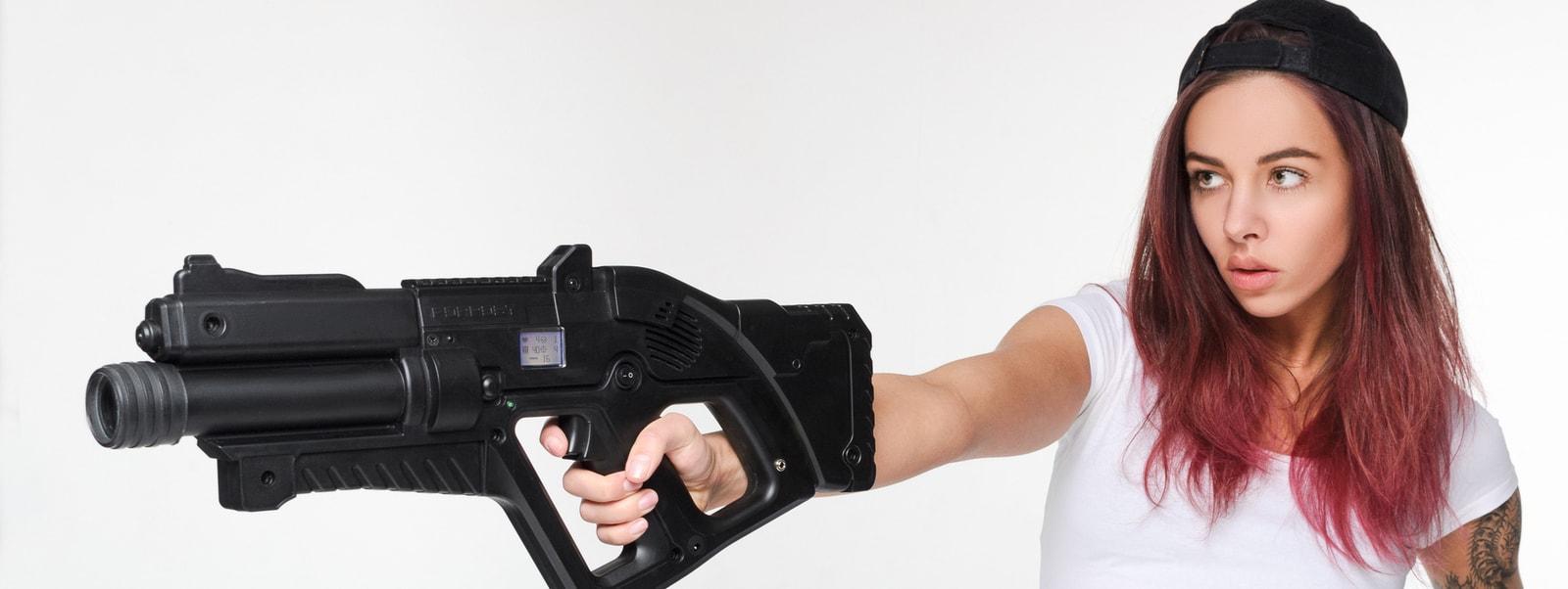 Новинка! Игровые лазертаг-винтовки для каждого