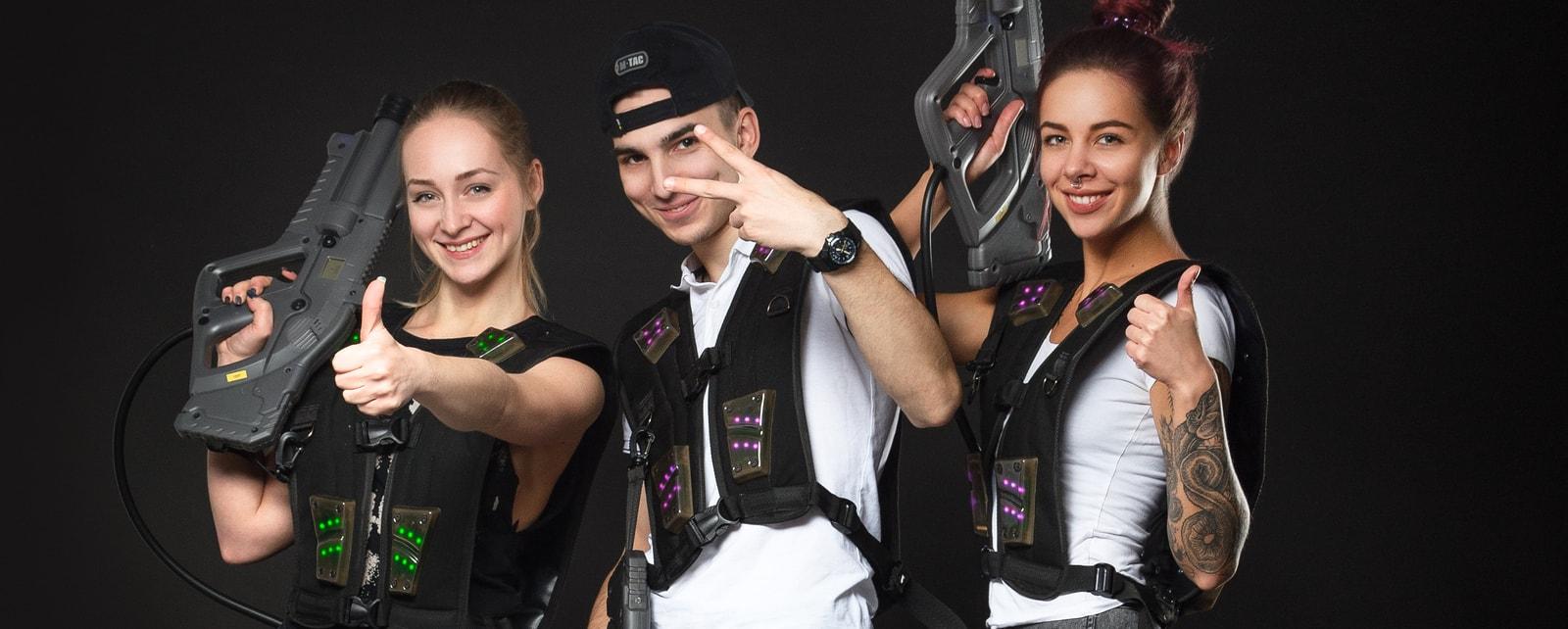 Уже вторая лазертаг-арена в Харькове!