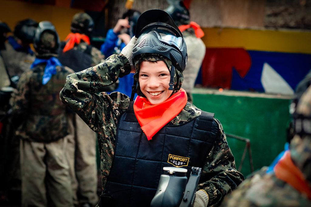 детский пейнтбол Харьков